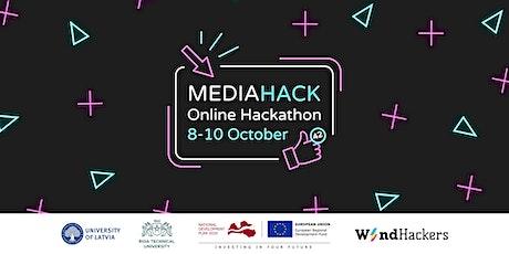 MediaHack 2021 Online Hackathon tickets