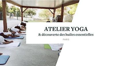 Matinée SELF-CARE yoga & découverte des huiles essentielles (PARIS) billets