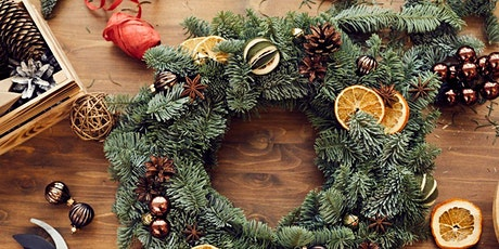 CHRISTMAS WREATH MAKING WORKSHOP WITH PROSECCO  AND  NIBBLES tickets
