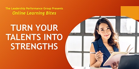 Turn Your Talents into Strengths (Online - Run 20) tickets