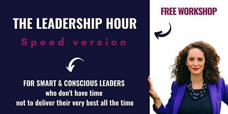 The Leadership Hour - speed version tickets