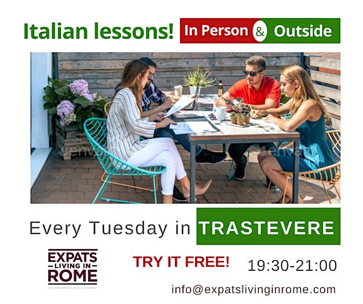 Tuesdays Language, Culture & Social Tandem | Trastevere image
