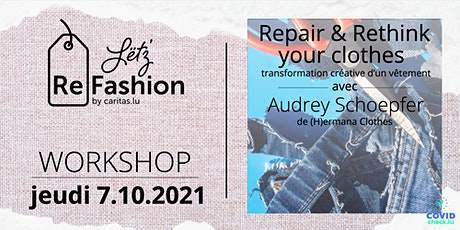 Rethink & Restyle your clothes tickets
