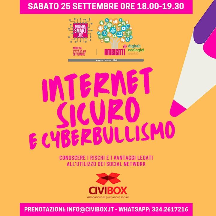 Immagine Internet sicuro e cyberbullismo
