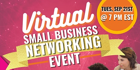 Virtual Small Business Networking Event tickets