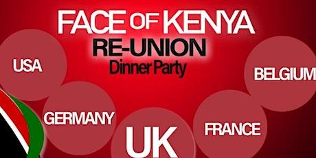 FACE OF KENYA UK REUNION tickets