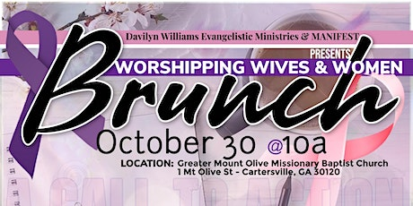 Worshipping Wives & Women's Brunch tickets