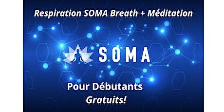 Respiration SOMA Breath avec Chris  - Session pour DÉBUTANT billets