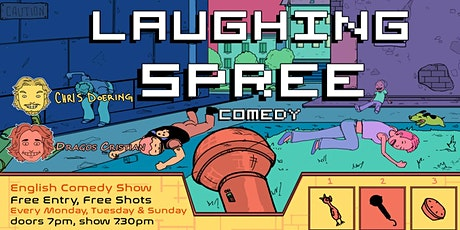 Laughing Spree: English Comedy on a BOAT (FREE SHOTS) 26.09. tickets