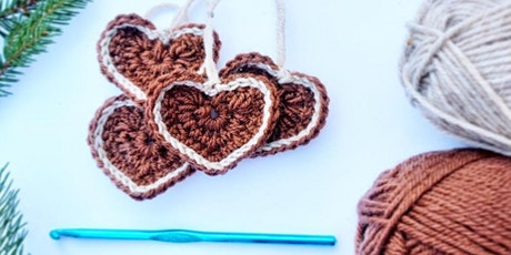 Crochet at Christmas - Gingerbread Decorations tickets