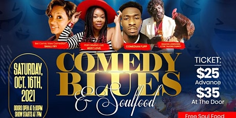COMEDY BLUES AND SOULFOOD IN PERRY GA tickets
