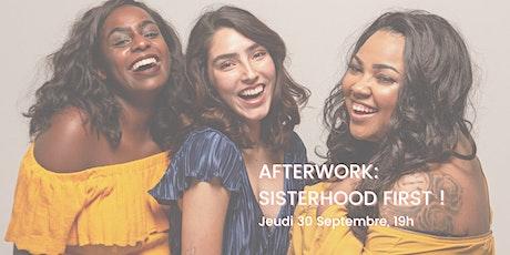 Afterwork: plus de sororité dans nos vies ! billets
