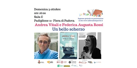 """Andrea Vitali  """"Un bello scherzo"""" con Federica Augusta Rossi biglietti"""