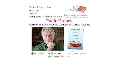 """Paolo Crepet """"Oltre la tempesta. Come torneremo a stare insieme"""" biglietti"""