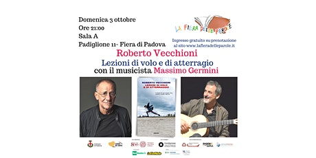 """Roberto Vecchioni e Massimo Germini  """"Lezioni di volo e di atterraggio"""" biglietti"""