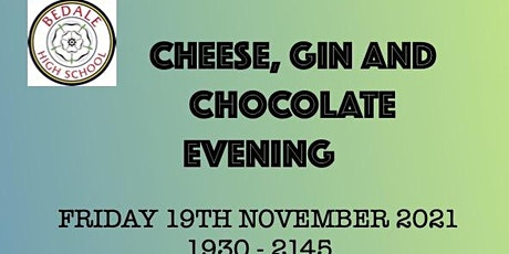 Cheese, Gin and Chocolate Evening tickets