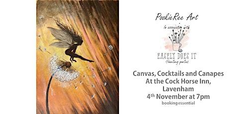 Canvas Cocktails & Canapes -  Fairy Leapfrog -  Lavenham, Suffolk, 4th Nov tickets