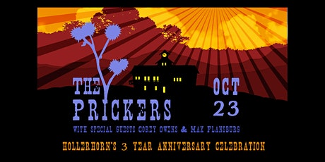 The Prickers w/Max Flansburg and Corey Owens at Hollerhorn Distilling tickets
