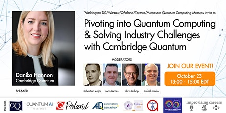 Pivoting Into Quantum Computing & Solving Industry Challenges with CQ tickets