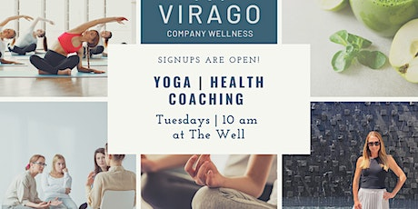 Yoga + Health Coaching Series @ The Well tickets