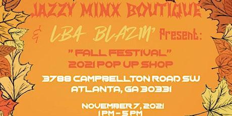 Jazzy Minx Boutique & LBA Blazin Presents Fall Pop Up Shop Expo!!! tickets