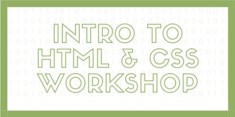 PTC Intro to HTML and CSS tickets