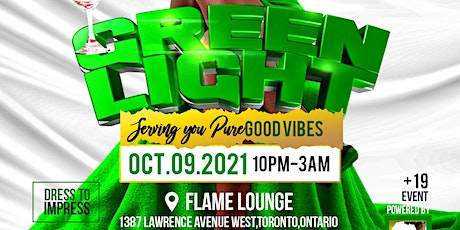 GREEN LIGHT (AFRO PARTY) THANKSGIVING LONG WEEKEND VIBE tickets