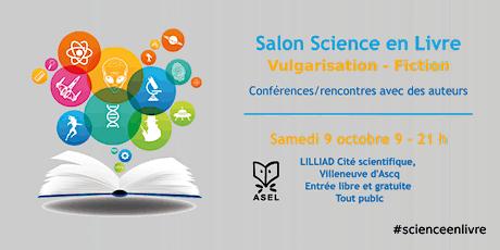 Festival Science en livre billets
