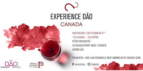 Experience  Dão - Toronto tickets