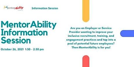MentorAbility Alberta Information Session tickets