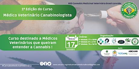 1 º Edição do Curso MVC- Médico Veterinário Canabi bilhetes