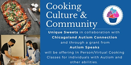 November - Cooking, Culture & Community Classes for Adults with Autism tickets