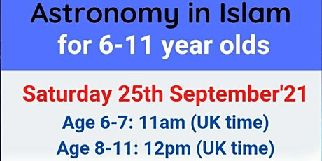 Astronomy in Islam tickets