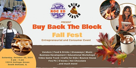 Buy Back the Block Fall Fest - An Entrepreneur and Consumer Event tickets