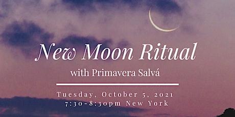 NEW MOON RITUAL with Primavera Salvá tickets