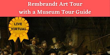 Online Rembrandt Art Tour Tickets