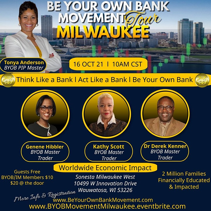 Be Your Own Bank Movement Tour Milwaukee image