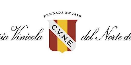 Bodegas C.V.N.E Wine Dinner tickets