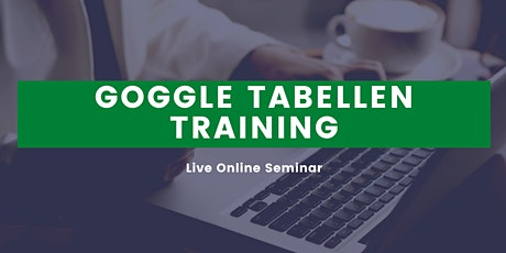 Google Sheets Training auf Deutsch | Google Tabellen Schulung Tickets