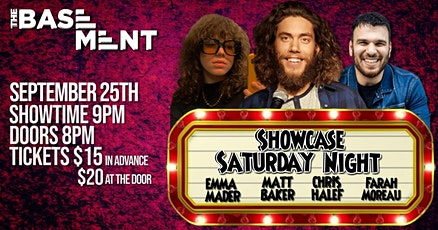 Showcase Saturday Night - Matt Baker tickets