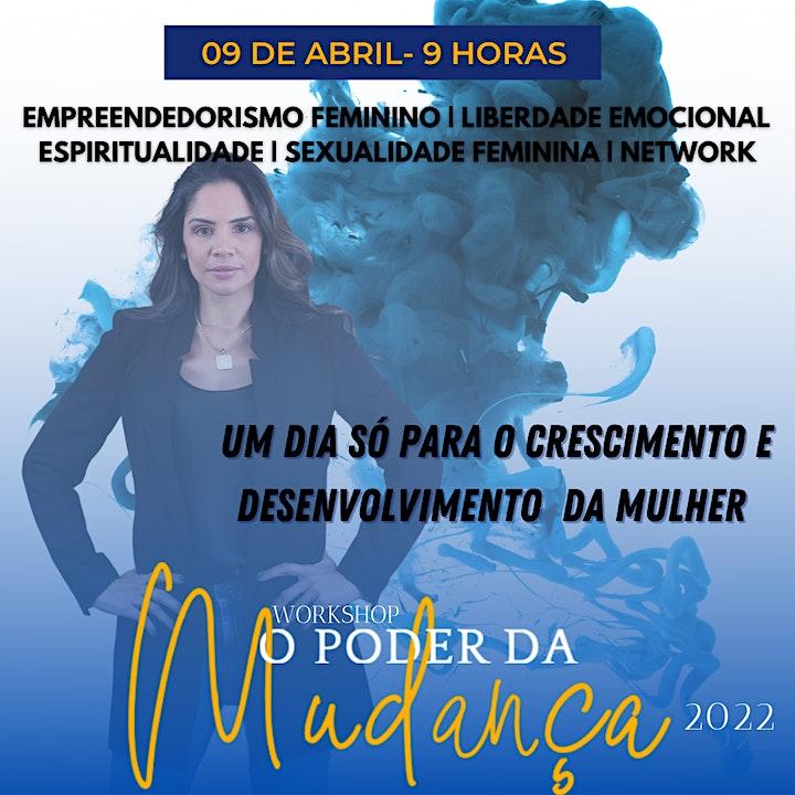 Imagem do evento WORKSHOP O PODER DA MUDANÇA 2022