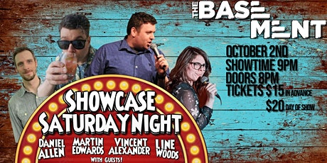 Showcase Saturday Night - Vincent and Martin tickets