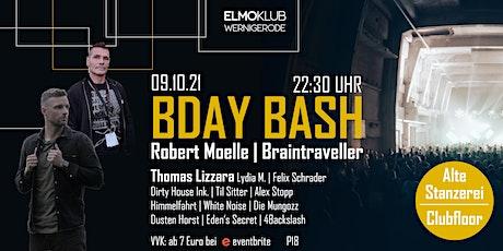 Robert Moelle & Braintraveller BDAY BASH w/ Thomas Lizzara, Lydia M. uvm. Tickets