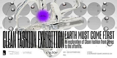 Clean Fashion Exhibition Tours tickets