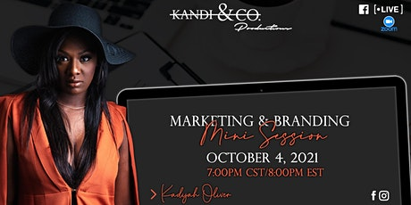 Branding & Marketing Mini Session tickets