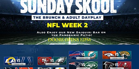 The SUNDAY SKOOL Brunch & Adult Dayplay at MONTICELLO Bistro & Patio! tickets