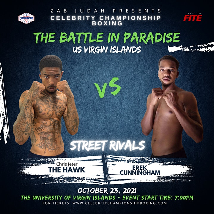 """Celebrity Championship Boxing presents """"The Battle in Paradise"""" image"""