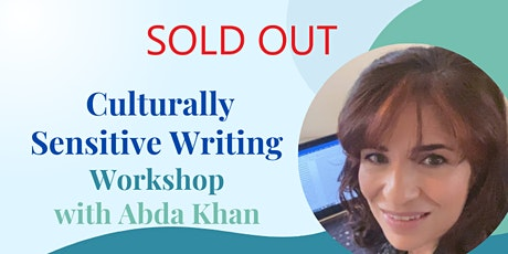 SOLD OUT Culturally Sensitive Writing Workshop - 9 October 2021 tickets