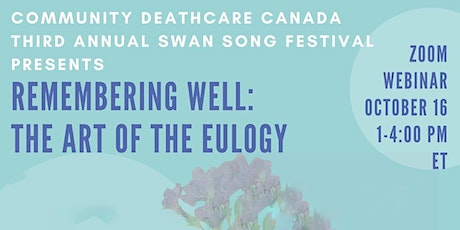 Remembering Well: The Art of the Eulogy tickets