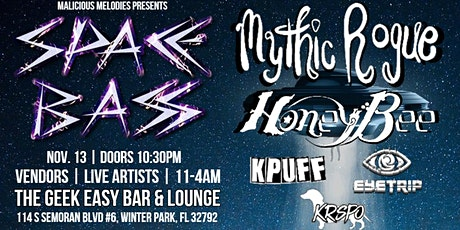 SPACE BASS Unofficial EDC Day 2 After Party w/ Mythic Rogue & Honeybee tickets